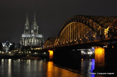 Colônia e os seus famosos Mercados de Natal, na Alemanha