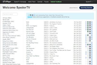 The SpoilerTV: banco de dados de episódios e classificações 4
