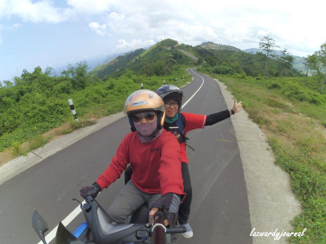 Lazwardy Journal Touring 9 Jam Keliling Sekotong Lombok Barat