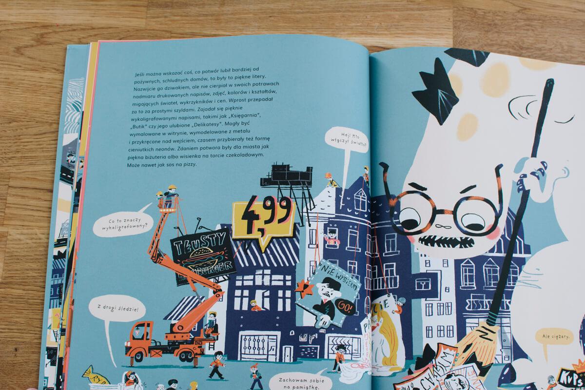 książka o życiu w mieście dla dzieci