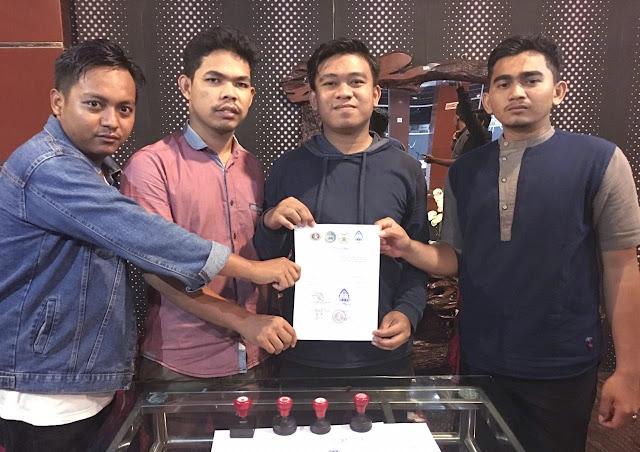 Demokrasi Dikebiri, Mahasiswa UIN Ar-Raniry Gugat KPR dan SEMA Fakultas Syariah dan Hukum