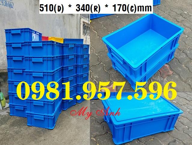 Hộp nhựa B4 có nắp, hộp có nắp đậy, hộp nhựa công nghiệp lớn