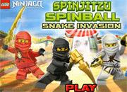 Spinjitzu Spinball Snake Invasion