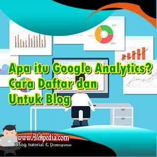 Cara menghubungkan Google Analytics ke Blog