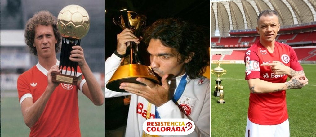Ídolos vitoriosos do Inter (Montagem sobre fotos de divulgação)