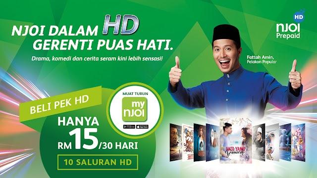 Pek NJOI HD Menawarkan Kepuasan Hiburan Premium Berdefinisi Tinggi
