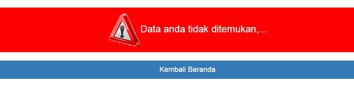 Mengatasi Data Tidak Ditemukan Dalam Info GTK/PTK
