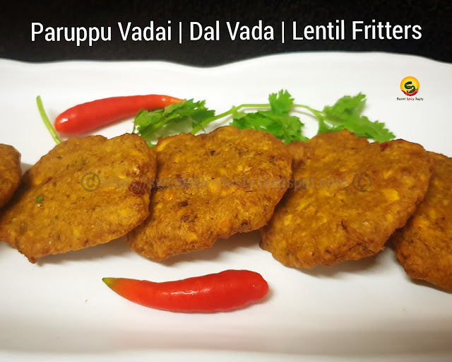 Paruppu Vadai or Aama Vadai  is a traditional dish made as an offering for any pooja or auspicious occasions. It is known as Aam Vade in Kannada , Sennaga pappu Garelu in Telugu, Parippu Vada in Malayalam.how to make dal vada at home, navaratri pooja prasad vada , muparuppu vadai , moonu paruppu vadai , paruppu vadai , parippu vada ,ambode