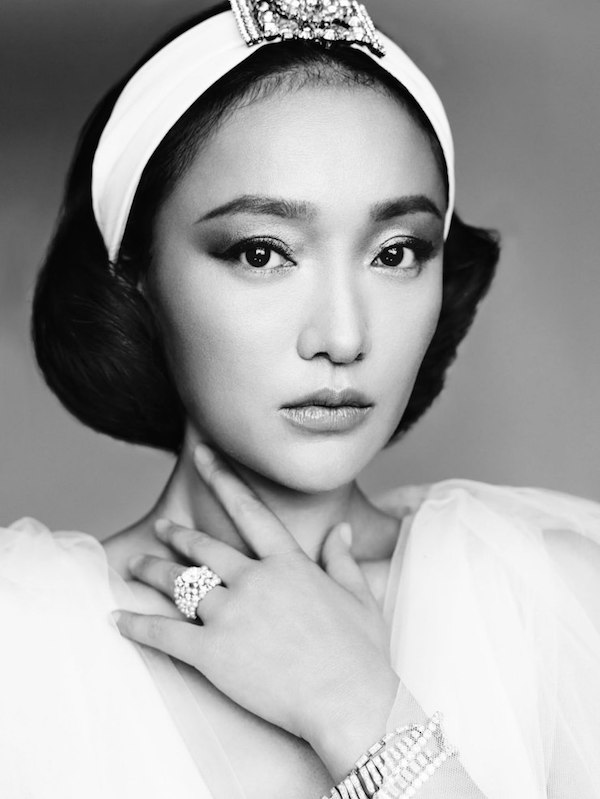 Zhou Xun by Mario Testino for Vogue China