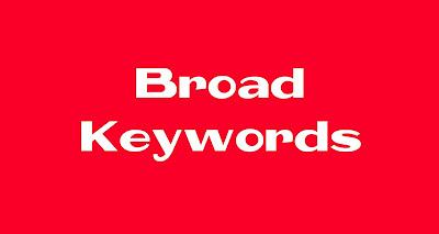 Broad Keywords