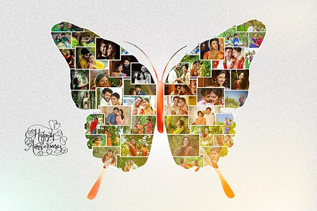 Photo collage psd templates free download