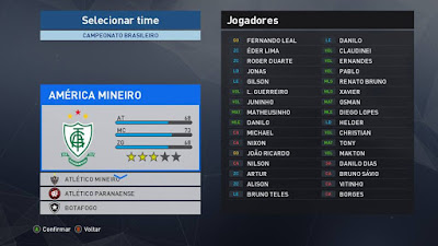 PES 2017 MjPES Patch BR Season 2016/2017