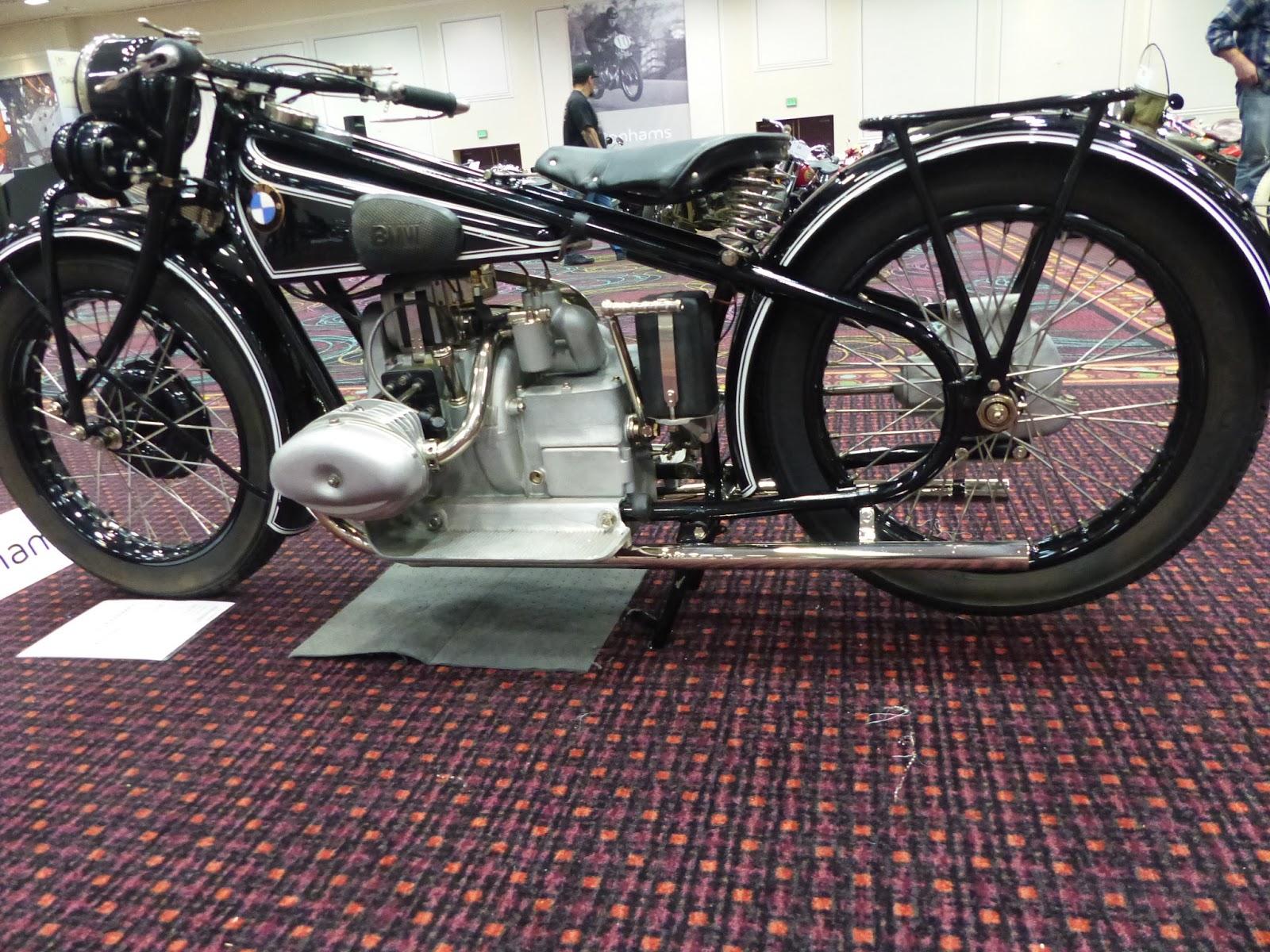 Evel Knievel Bike At Bonham S Las Vegas Moto Auction: OldMotoDude: 1928 BMW R57 Sold For $100,000 At The 2016