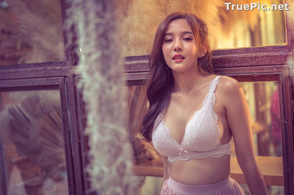 Image Thailand Model – Sukanya Rongpol – Sexy White Bra - TruePic.net - Picture-5