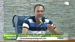 Audiência Pública - Orçamento 2018 da Prefeitura de Barretos-SP -  em 16/10/2017 - Vereador Carlão do Basquete