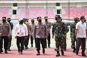 Panglima TNI dan Kapolri Pastikan Kelancaran PON ke-XX