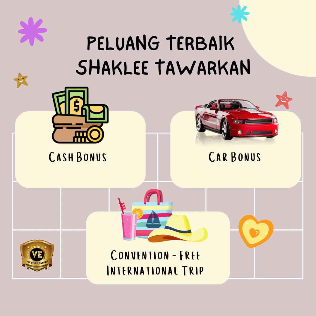 Car bonus Shaklee
