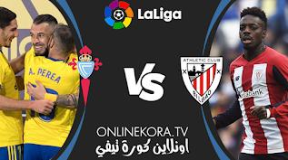 مشاهدة مباراة قاديش وأتلتيك بيلباو بث مباشر اليوم 15-02-2021 في الدوري الإسباني