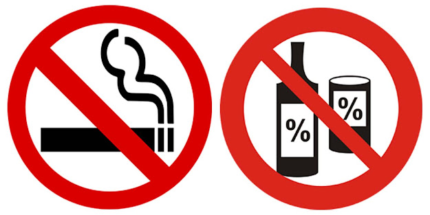 Effects of smoking and alcohol on dental implant