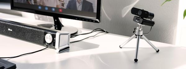 Trust apresenta a webcam Taxon para fazer videochamadas a partir de casa