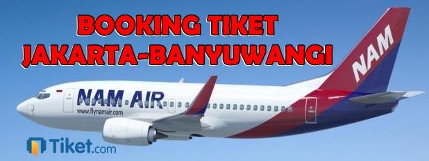 Nam Air Jakarta-Banyuwangi
