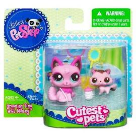 Littlest Pet Shop Mommy & Baby Cat (#2664) Pet