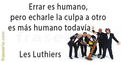 Errar es humano – Les Luthiers