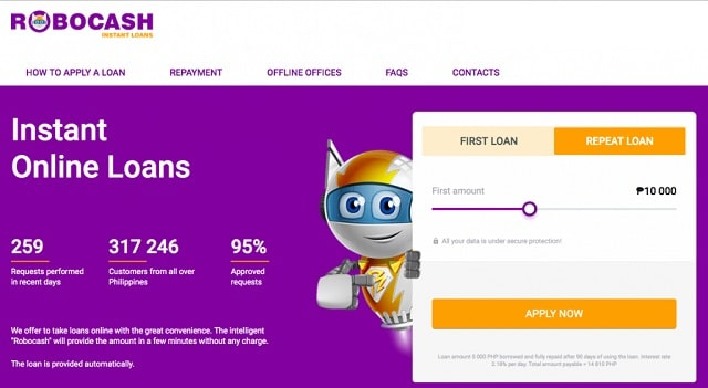 instant online loans robocash philippines