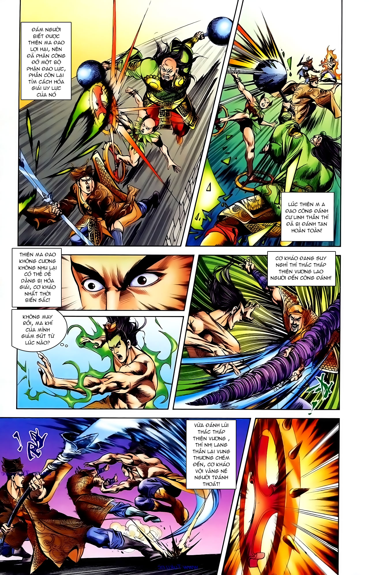 Cơ Phát Khai Chu Bản chapter 103 trang 20