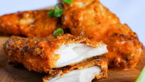Healthy Recipes   Low-Carb Baked Chicked Tenders