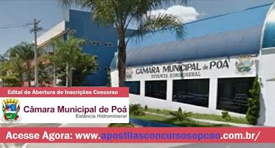 Apostila Câmara de Poá 2015 Oficial Legislativo - Impressa