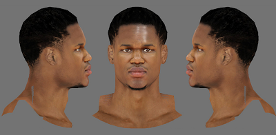 NBA 2K14 Ben McLemore Next-Gen Face Mod