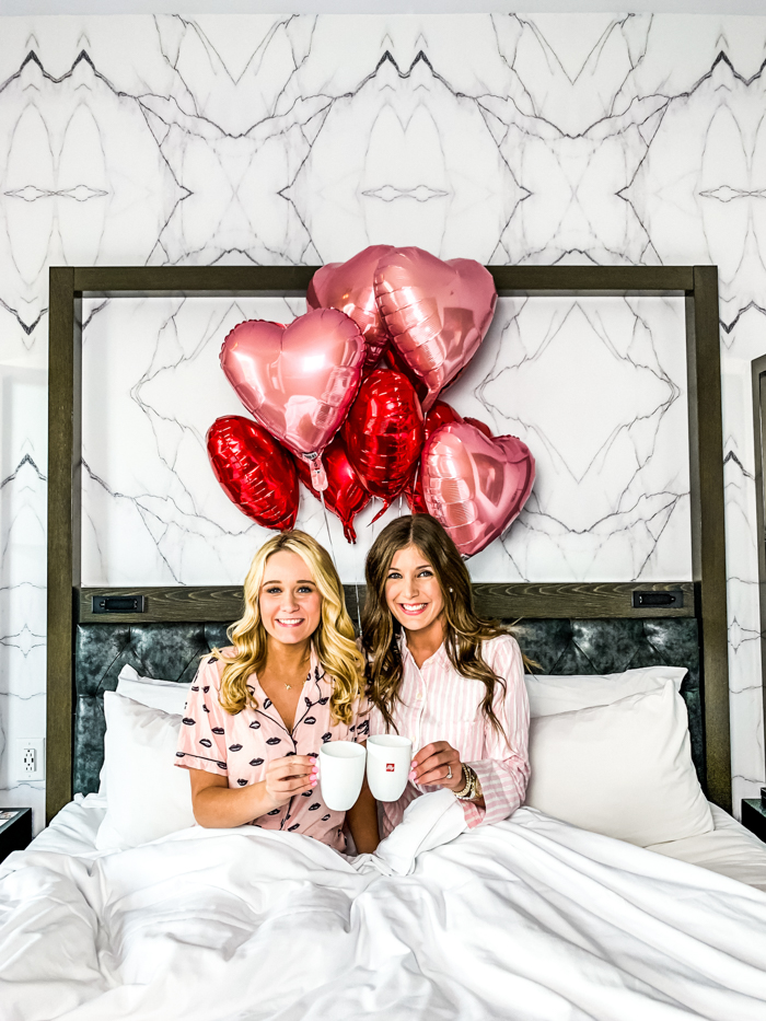 Galentine's at Hotel Bella Grace - Chasing Cinderella
