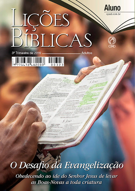 CPAD - Lição 12 A Evangelização Real na Era Digital.