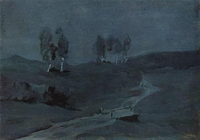 Исаак Ильич Левитан - Тени. Лунная ночь. 1880-е