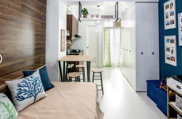Resultado de la reforma de un estudio convertido en hogar