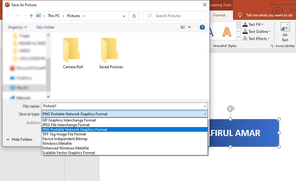 Cara Mudah Menjadikan Gambar Format PNG