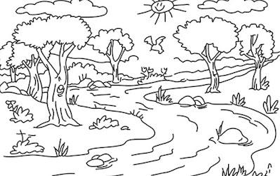 Gambar Pemandangan Pohon