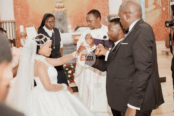 Bongo Star Lulu Weds DJ Majizzo wedding photos