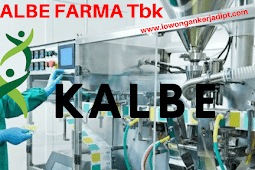Lowongan Kerja PT Kalbe Farma Tbk Cikarang Terbaru 2021