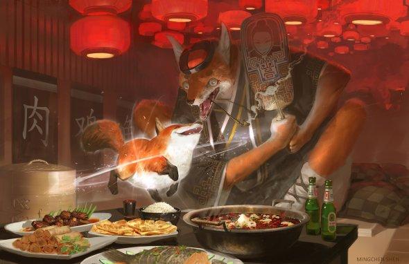 Mingchen Shen artstation arte ilustrações fantasia ficção científica games