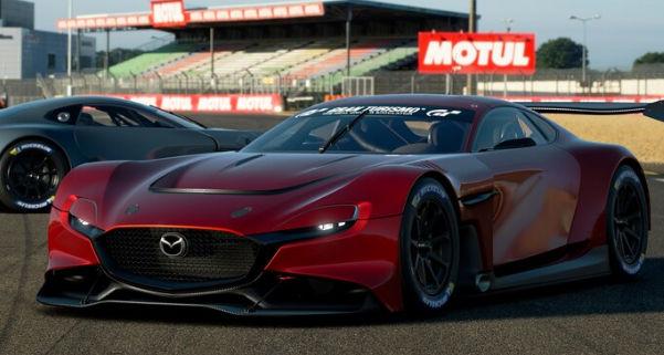 Mazda RX-Vision GT3 - концепт уже на трассе.