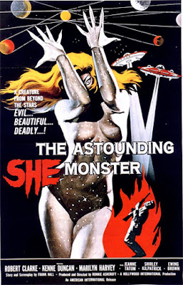 Poster - The Astounding She-Monster (1957)