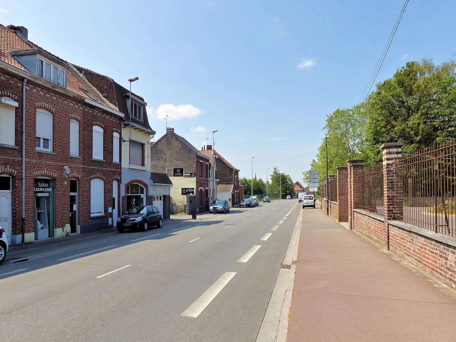 Rue de l'Yser, Tourcoing, 2020