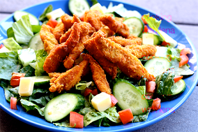 http://cookingwithlena.blogspot.com/2013/11/crispy-chicken-salad-homemade-version.html