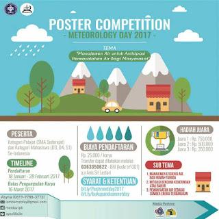 Lomba Desain Poster 2017 di IPB