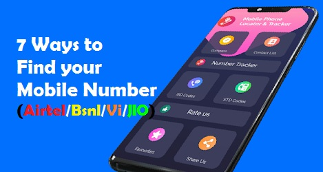 Find your Mobile Number