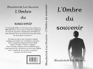 """La couverture de """"L'Ombre du souvenir"""", par Bloodwitch Luz Oscuria"""