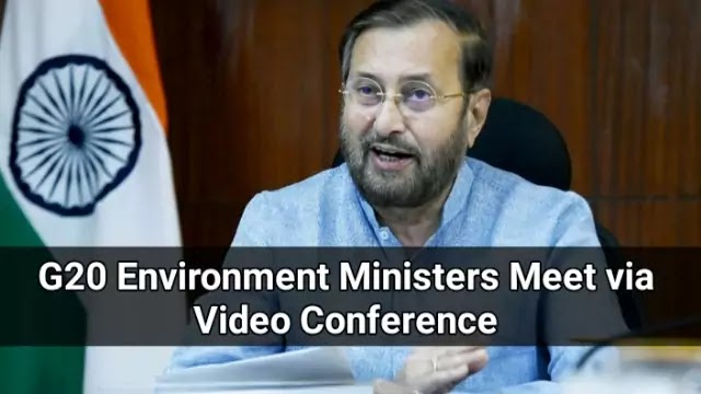 G20 Environment Ministers Meet via Video Conference: Point-to-Point Details