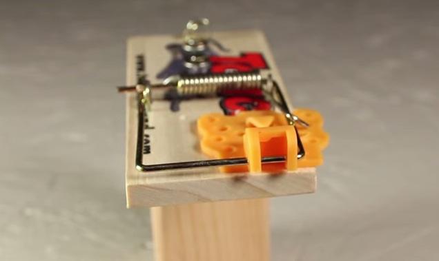 Cách làm súng đồ chơi từ chiếc bẫy chuột 5